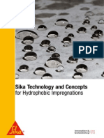 Sika, 2012 - Hydrophobic Impregnations Technology