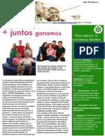 Newsletter Curados de Cáncer Octubre 2011