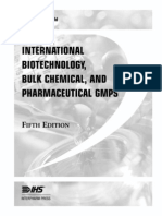 International Biotechnology and Pharmaceutical GMPS