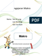 Pengajaran Makro