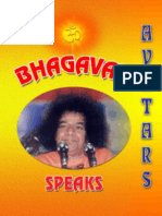 Bhagavan Speaks on Avatars