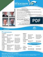 Edinburgh Convention 2014 Brochure