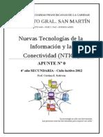 Actividades previas 4º Secundaria NTICx 2012