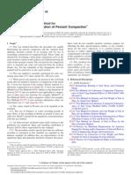 D5080.Rapid Determination of Percent Compaction