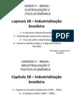 Capítulo 28 - Industrialização brasileira