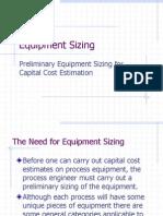 04(Equipment Sizing)