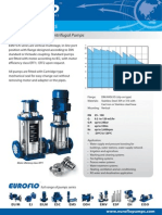 Euroflo Centrifugal Product Flyers 2009