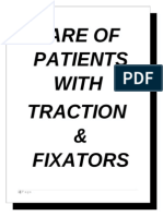 Tractions and Fixators