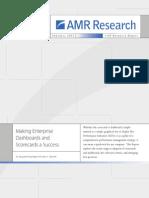 Amr Research Enterprise Dashboards Scorecards