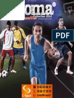 Catalogue Joma 2014