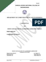DAA Lab Manual VTU