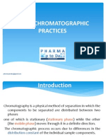 Good Chromatographic Practices