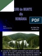 Lacuri de Munte Din Romania