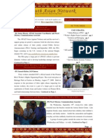 SAN Newsletter, Fall 2009