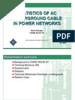 E4-2009Fall-STATISTICSofACUndergroundCableinPowerNetworks