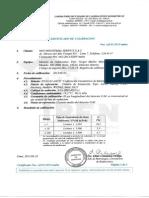 Certificado de Calibracion Serie 64624