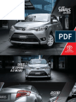 Catalogo Yaris 2014