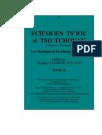 Les Cinq Classiques - V - Les Annales des Printemps et Automnes (Chūn Qiū), ou Annales du pays de Lu - Tome II