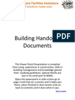 Building Handover Documents v14