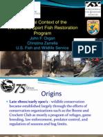 75 Years of Wildlife and Sport Fish Restoration
