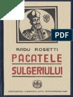 Radu Rosetti - Păcatele sulgeriului - 1924 [AN 300 dpi]