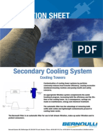 Bernoulli Filter Application Sheet - Cooling Tower