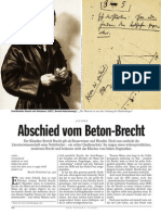 Abschied Vom Beton-brecht - Der Spiegel 2008