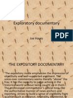 exploratory documentary