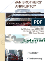 LEHMANBROTHERS¡¯BANKRUPTCY