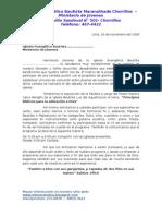 Carta De Invitacion Eucaristía Cristo Título