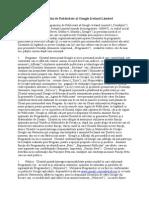 Condiţii ale Programului de Publicitate al Google Ireland Limited