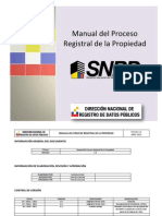 Manual Procedimientos Snrp