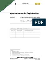 Subsistema de Consultas Web - Manual Del Usuario