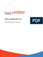Zimbra Collaboration System Administration Overview