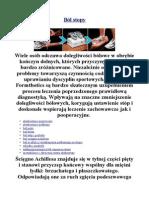 Ból stopy - poradniastopy.pl