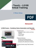 Lynx Touch – L5100 Z-Wave Setup