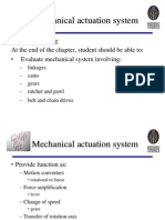 Chapter 6 Mechanical Actuation Systems