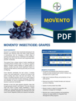 2012 Movento 2-Way Systemic Insecticide - Grape Post Harvest