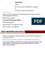 Post Modern Architecture
