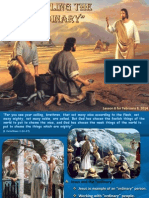 1st Quarter 2014 Lesson 6 Discipling the Ordinary Powerpoint Presentation