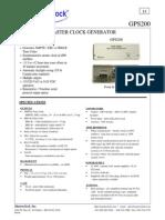 GPS200_datasheet