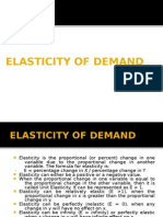 Elasticity Of Demand Price Elasticity Of Demand Demand