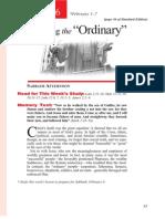 1st Quarter 2014 Lesson 6 Discipling the Ordinary Teachers' Edition
