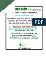 Cart a Parabens Gas