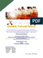 Parashat Tetzavéh # 20 Adul 6014