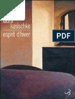 Laura Kasischke Esprit Dhiver