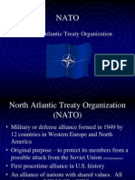 north atlantic treaty organization nato