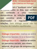 concertação social