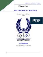 Eliphas Lévi - Los Misterios de La Cabala.pdf