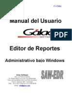 Manual de Usuario Editor de Reportes Guia de Adiestramiento